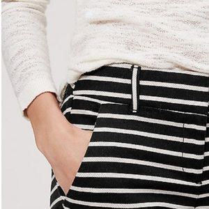 LOFT Striped Riviera Pants